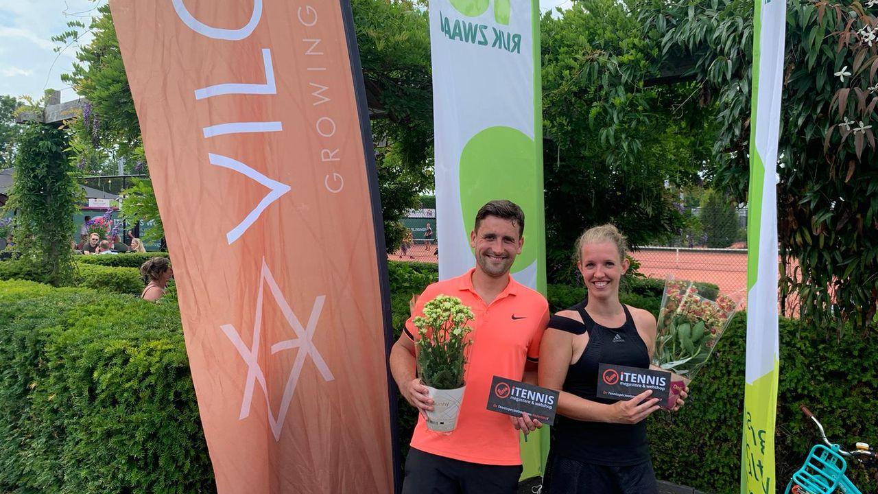 Prins en Van der Voort winnen 't Loo Open