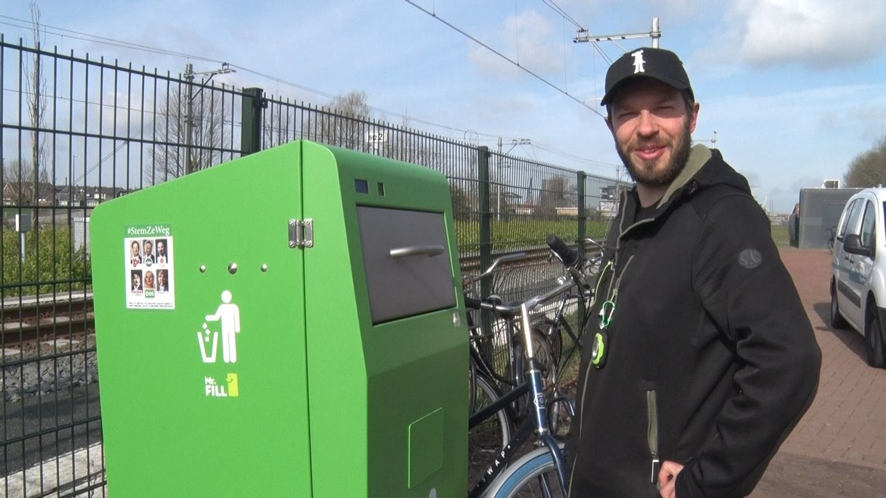 Metrostation Maassluis Centrum heeft afvalprobleem