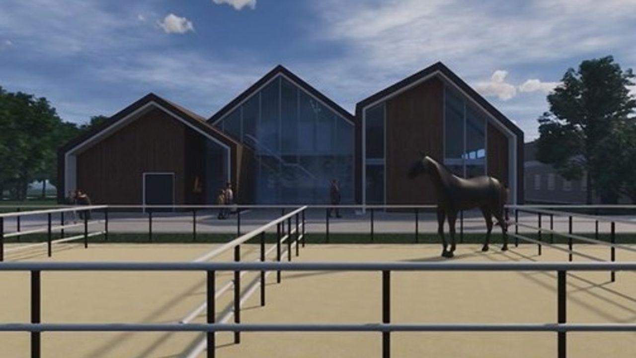Gloednieuwe Equestrum Campus voor hoger niveau paardensport: 'Iedereen met ambitie kan hier straks terecht'
