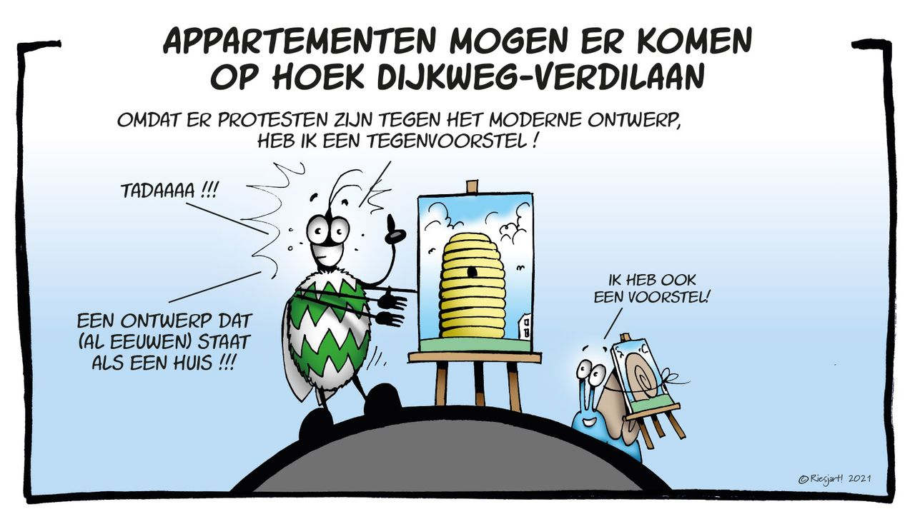 Ben & Sem over woningbouw Dijkweg-Verdilaan