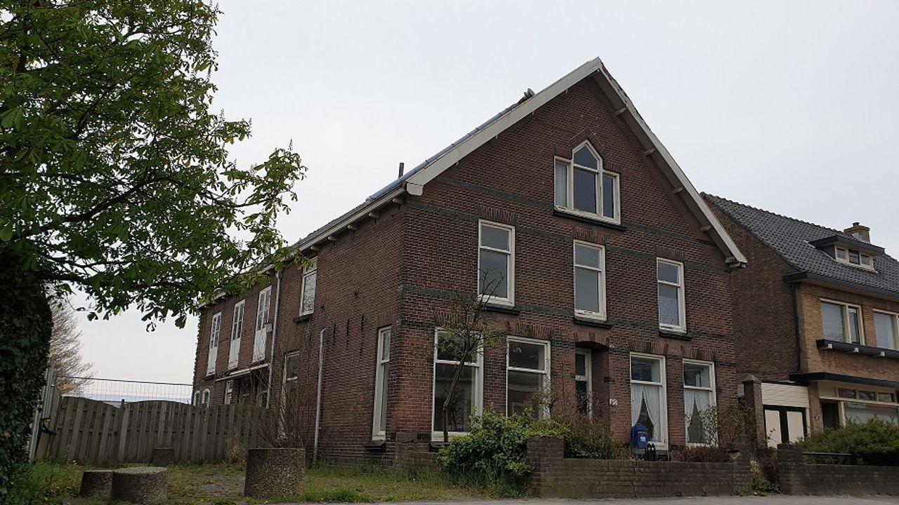 Acht appartementen in groot oud woonhuis