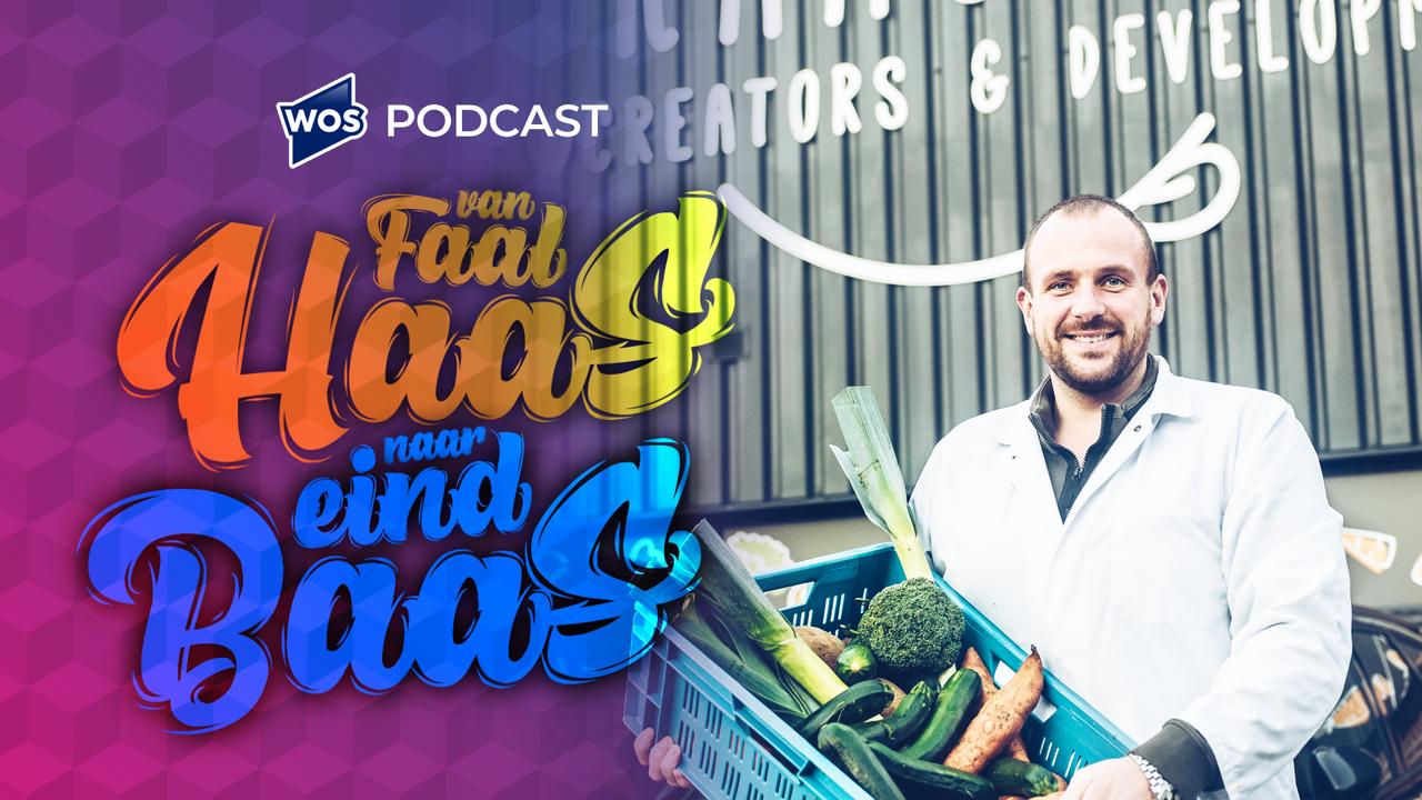 Derde aflevering podcast 'Van Faalhaas Naar Eindbaas': innovatieve voedseloplossingen