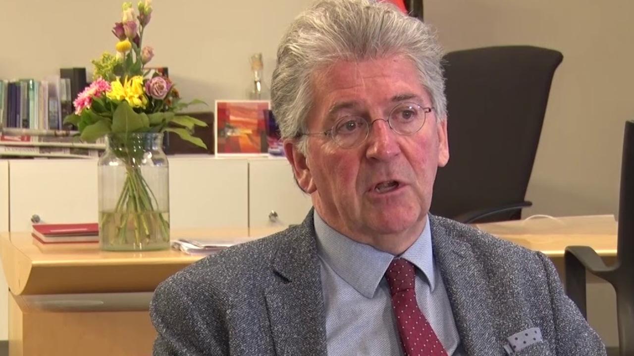 Edo Haan wil graag verder als burgemeester van Maassluis