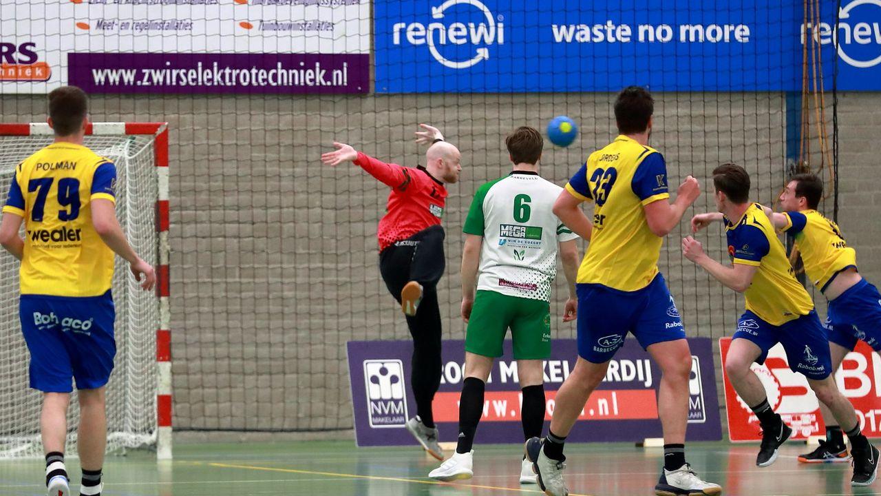 Handballers Quintus niet opgewassen tegen Limburgers