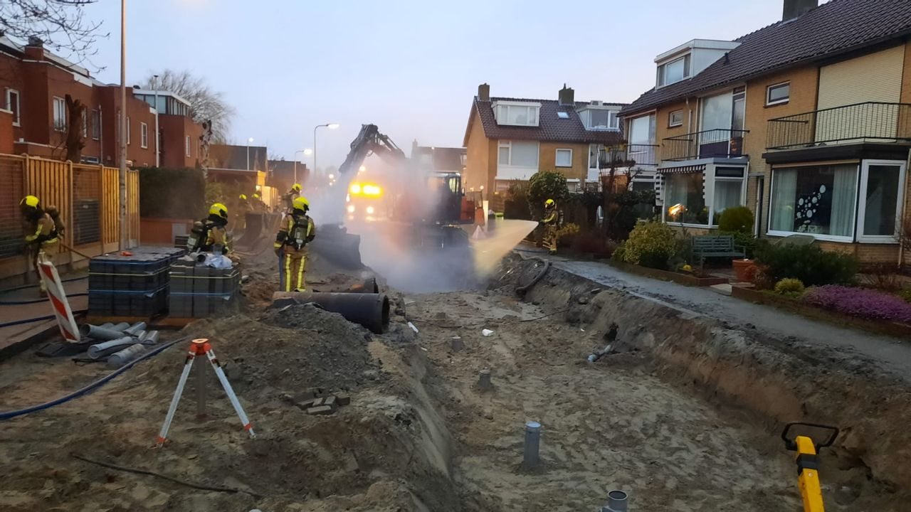 Gaslek in Lierse Kerklaan, woningen ontruimd