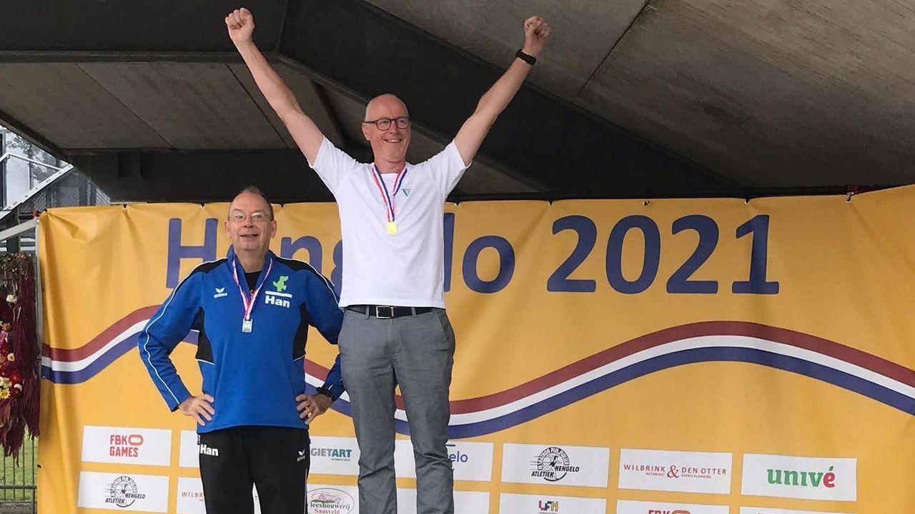 NK-goud voor Gerrit Riezebos en Carla Ophorst