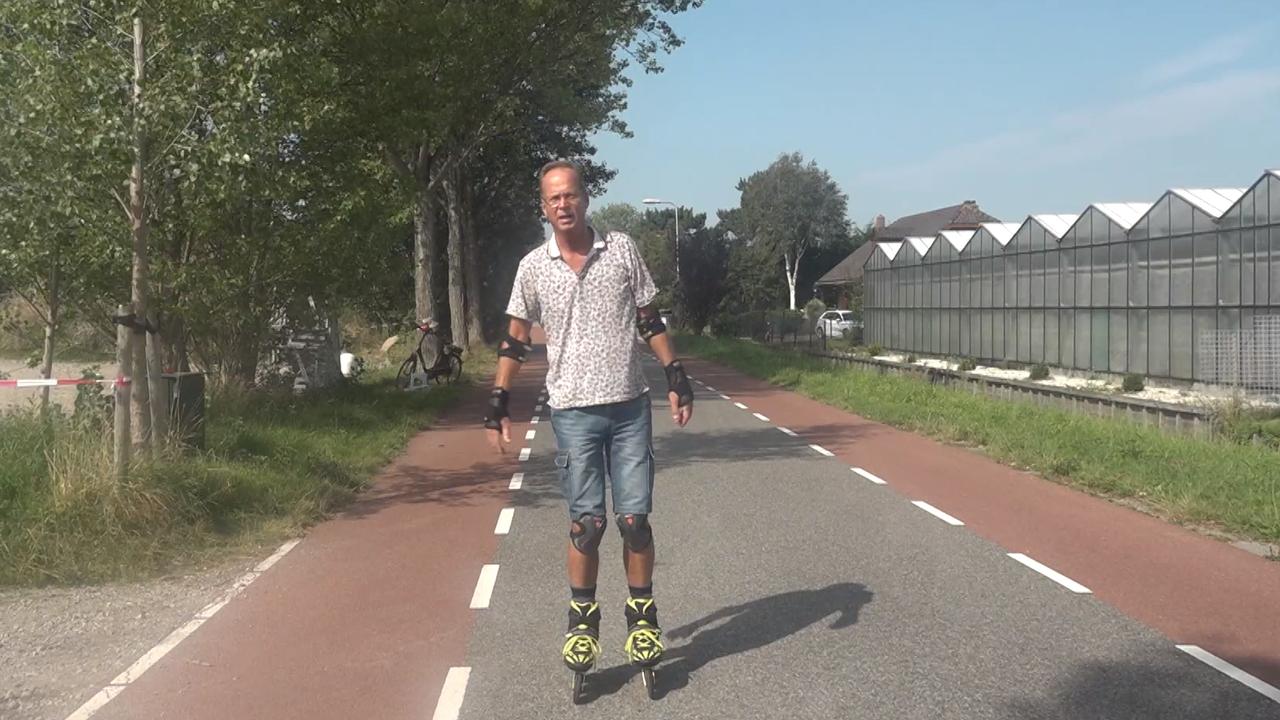 Lierenaar ontwerpt nieuw remmechanisme voor skate: 'De normale rem is onveilig'