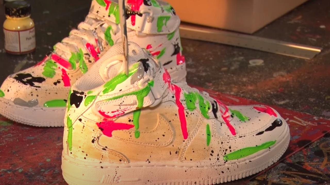 Gepimpte sneakers gaan de wereld over