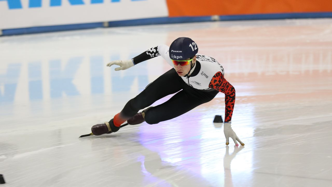 Monsternaar Huisman in nationale shorttrackselectie