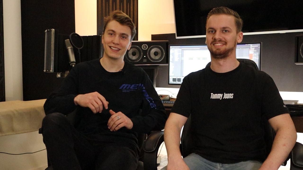 Dj-duo Huts van Stijn (22) en Jordi (25) tekent platendeal