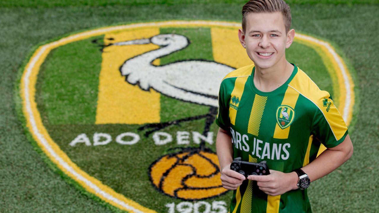 Naaldwijker (17) wordt Fifa-speler voor ADO Den Haag