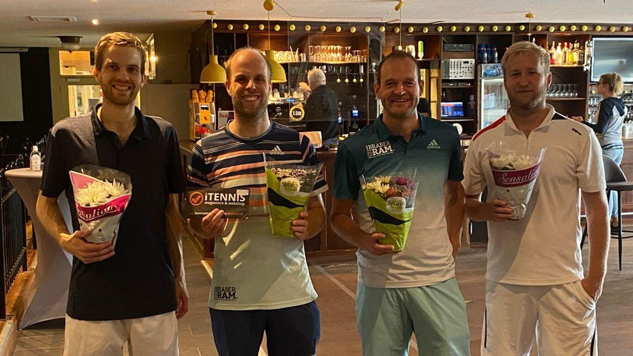 Westlandse Tenniskampioenschappen twee keer weggejaagd door regen