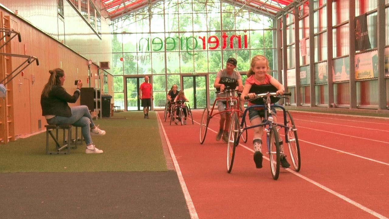 In Westland nu ook hardlopen ondanks motorische beperking