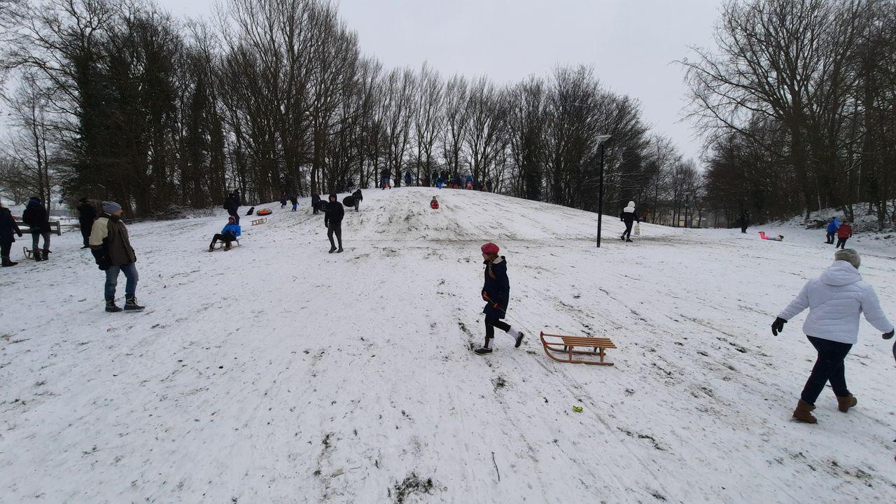 Roetsjen in het Oranjepark: 'Dit voelt als een verjaardagscadeau'