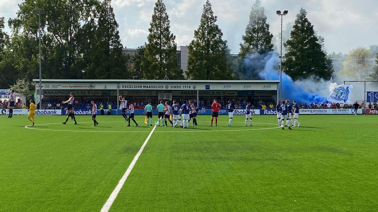 Excelsior Maassluis verslaat Quick Boys in extra tijd