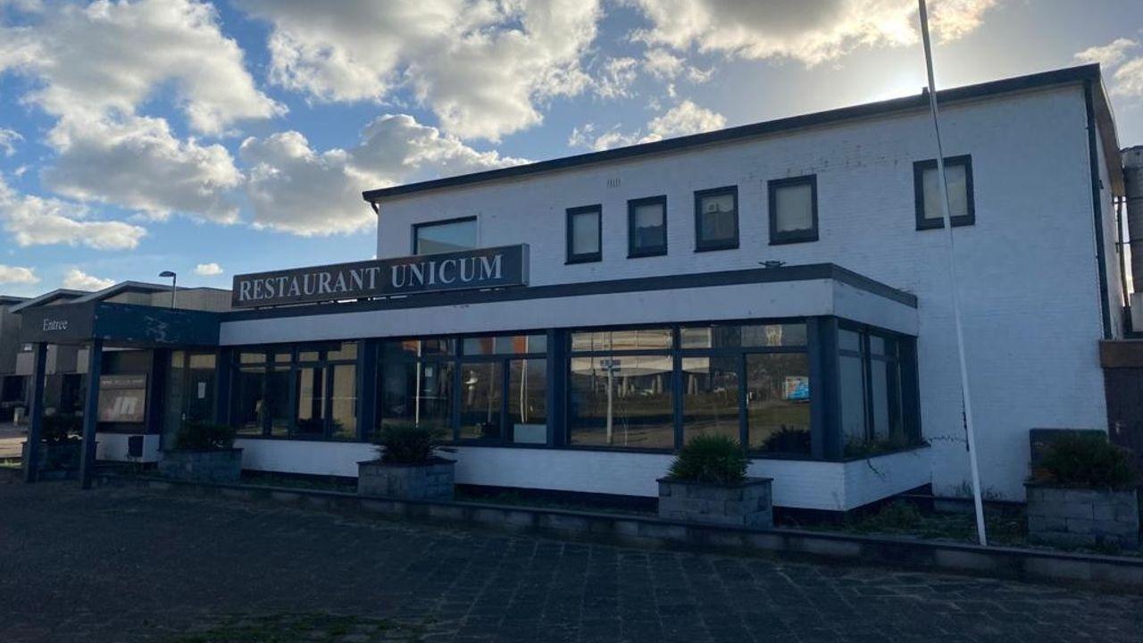 Afgebrande kringloop gaat door in leegstaand restaurant Unicum