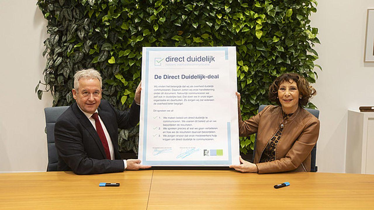 Gemeente Westland zet handtekening onder Direct Duidelijk Deal