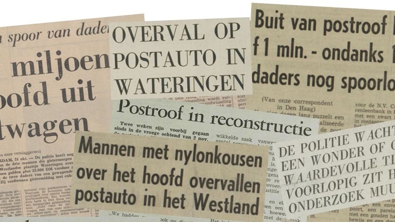 Streekhistorie: De Wateringse postroof