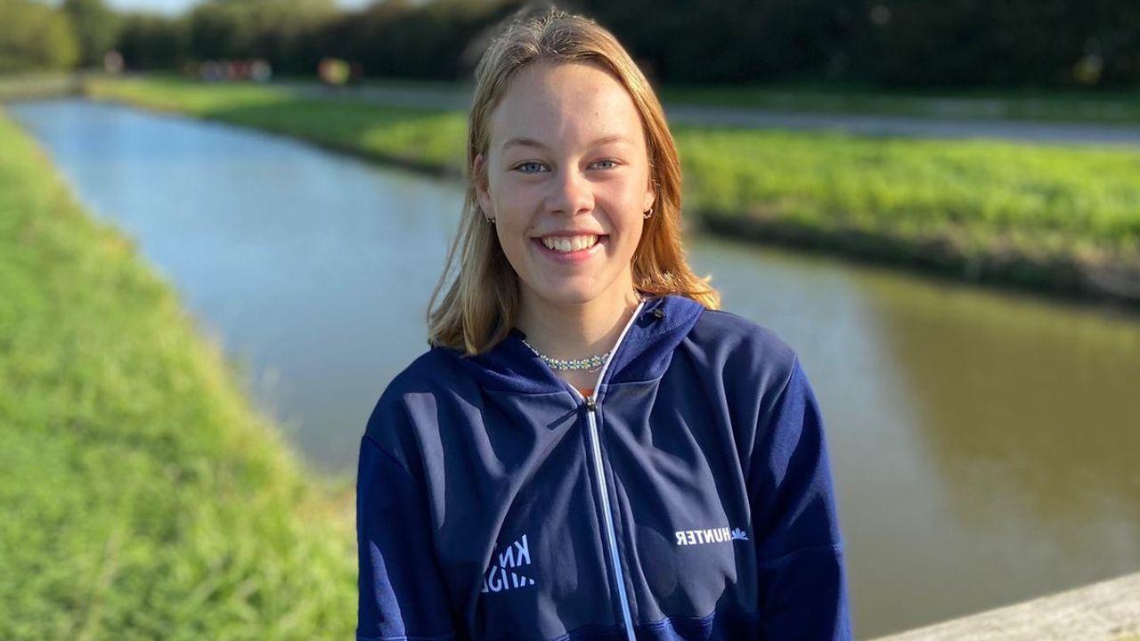 Poeldijkse schaatsster Van Koppen naar KNSB Talent Team