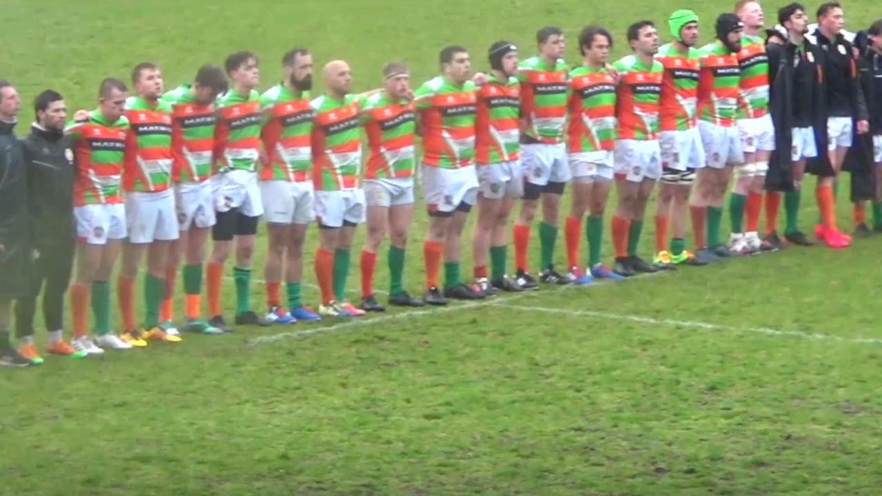 Hoekse rugbyers verliezen in Haarlem