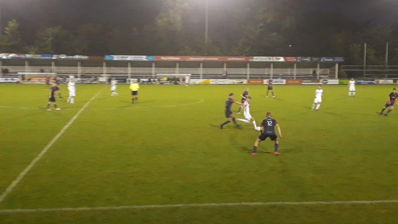 Oefenvoetbal: FC 's-Gravenzande laat langs Nieuwenhoorn