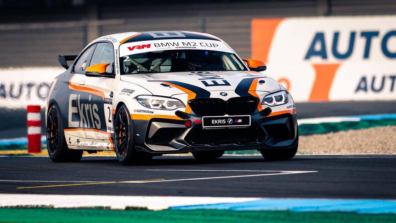 Eerste podiumplek Jack van der Ende in BMW M2 Cup