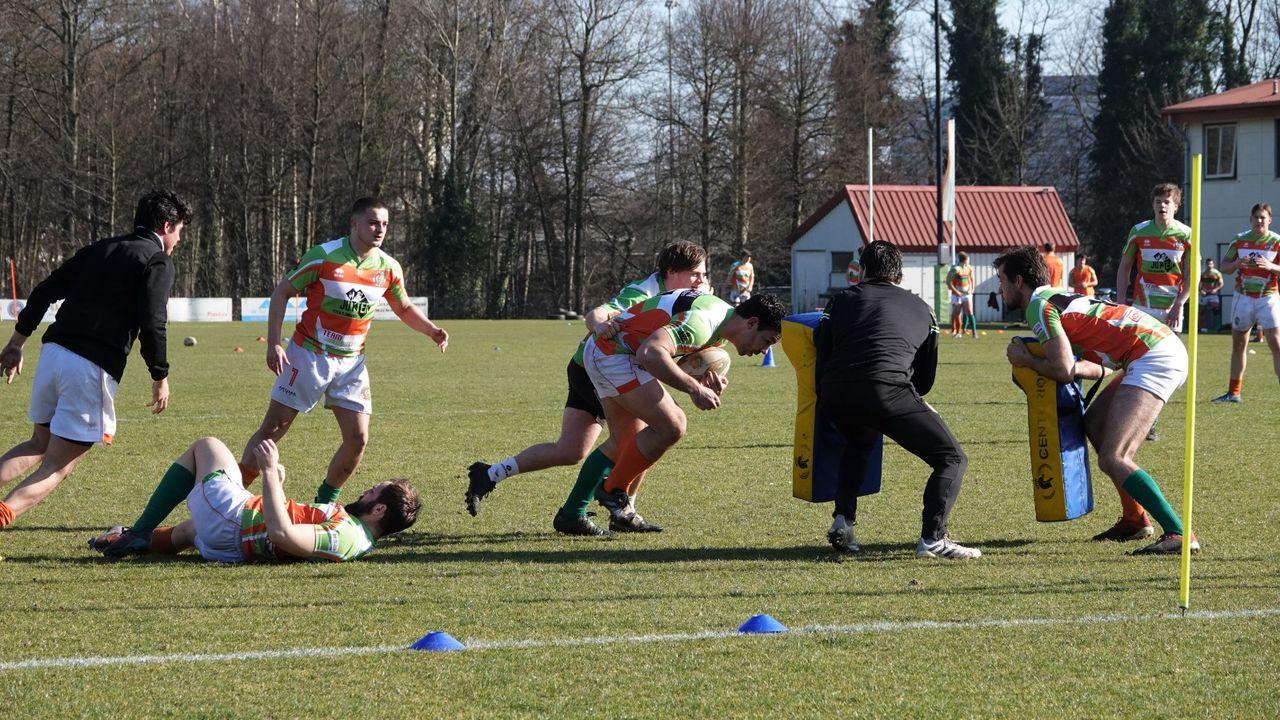 Hoekse rugbyers hervatten training