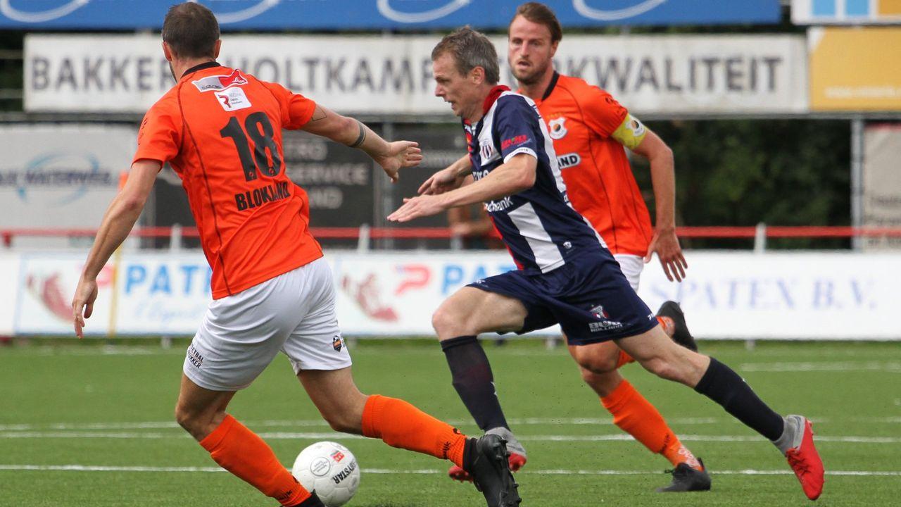 Excelsior Maassluis behoudt ook Van den Berg en Van den Beemt