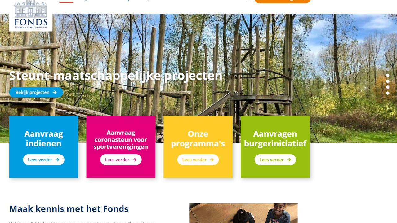 Fonds schiet sportclubs Maassluis te hulp