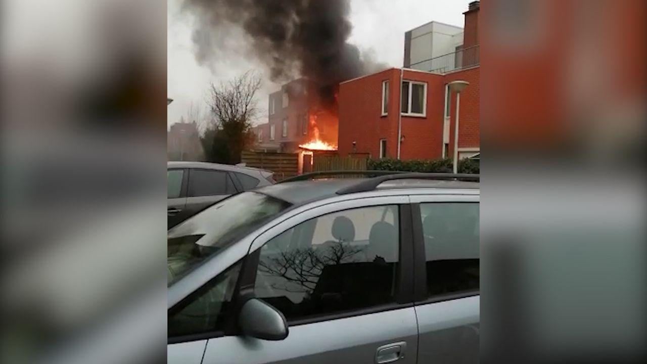 Uitslaande schuurbrand in De Lier