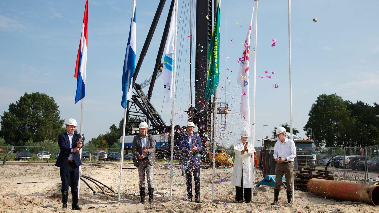 Bouw seniorencomplex De Vlootschouwer in Maassluis begonnen