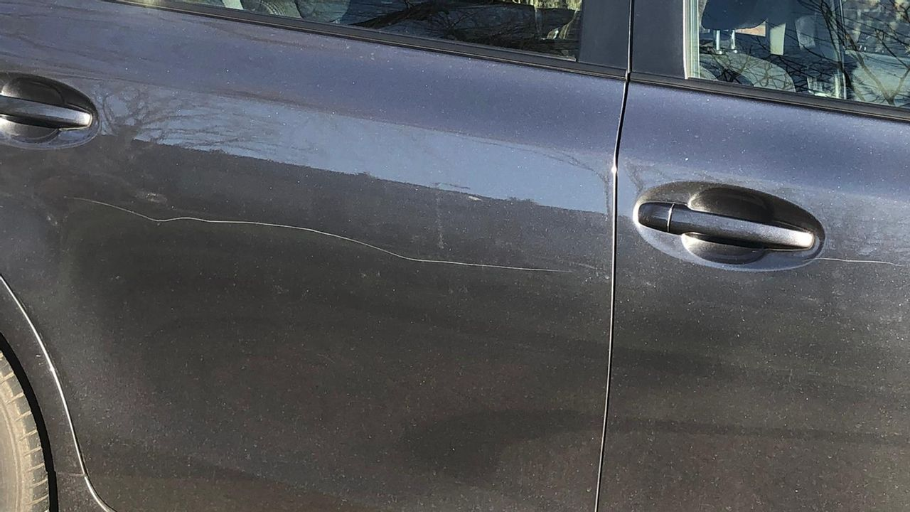 Auto's bekrast in Wateringen