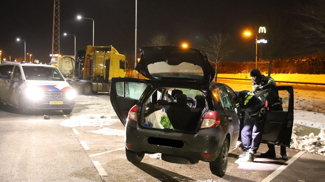 Twee personen aangehouden in Den Hoorn na overval