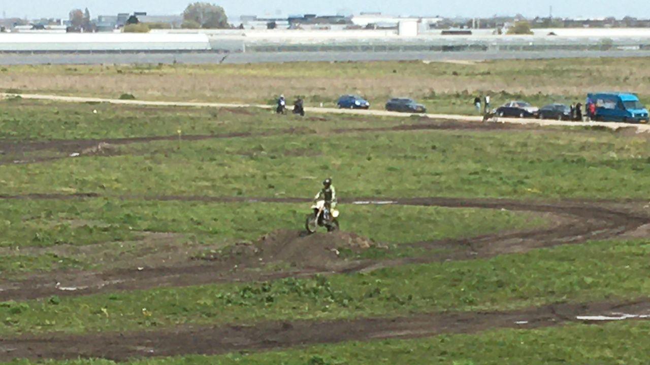 'Gebruik Oranjeheuvel door motorcrossers is niet meer toegestaan'
