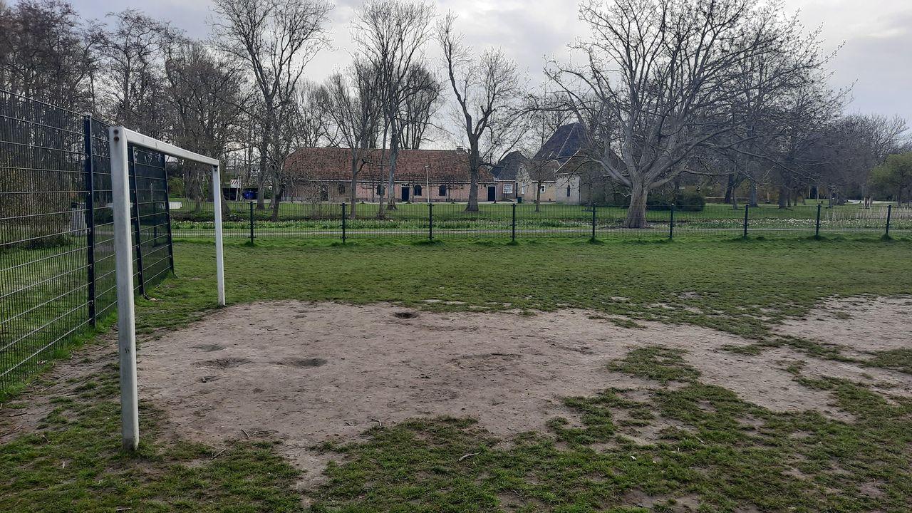Voetbalveldje in Hofpark wordt een multifunctioneel speelveld
