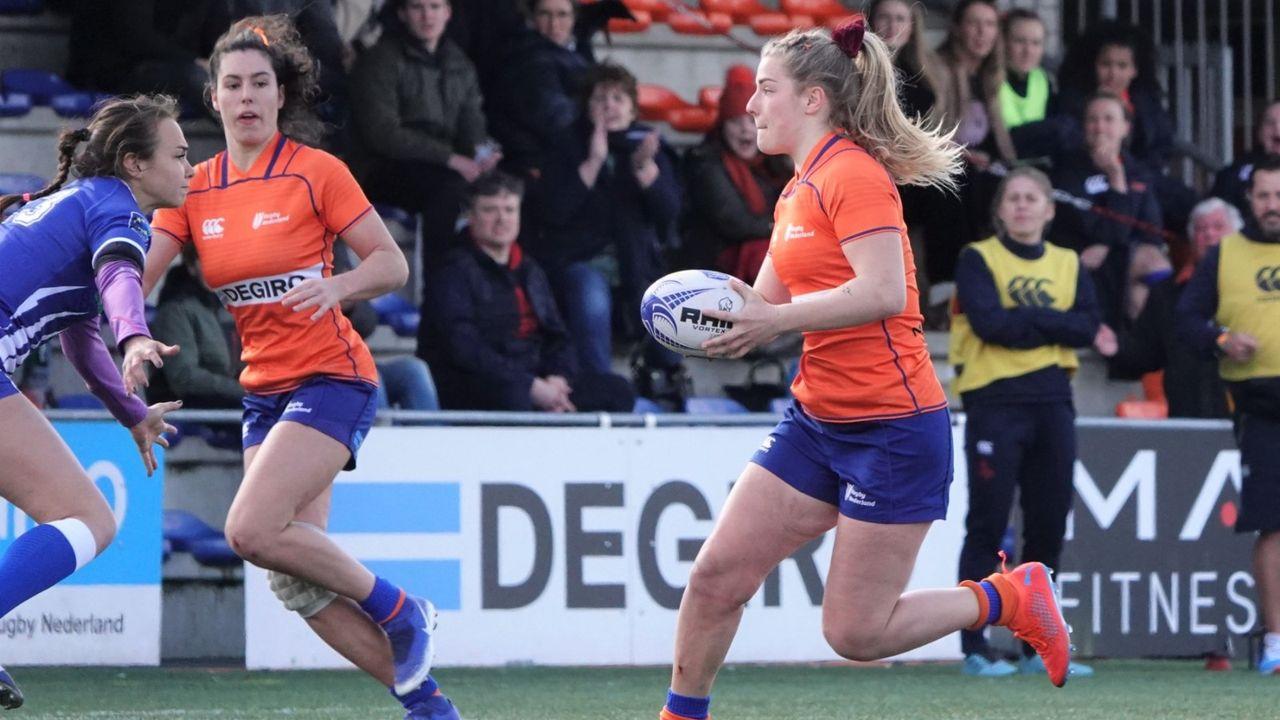 Noa Donkersloot in basis van nationaal rugbyteam