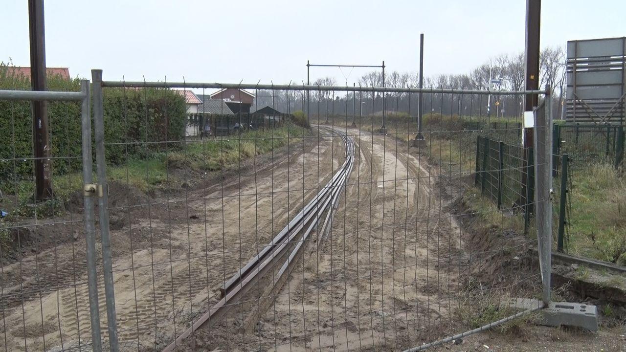Laatste stukje treinrails is weg