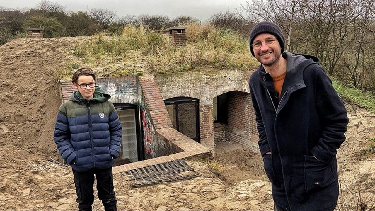Slapen in Duitse bunker: nog even geduld