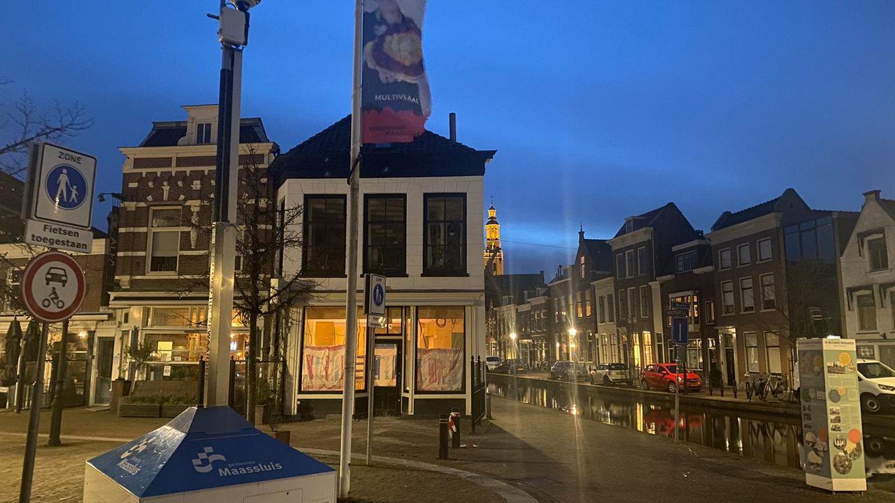 Uit voorzorg mobiele camera op Markt in Maassluis