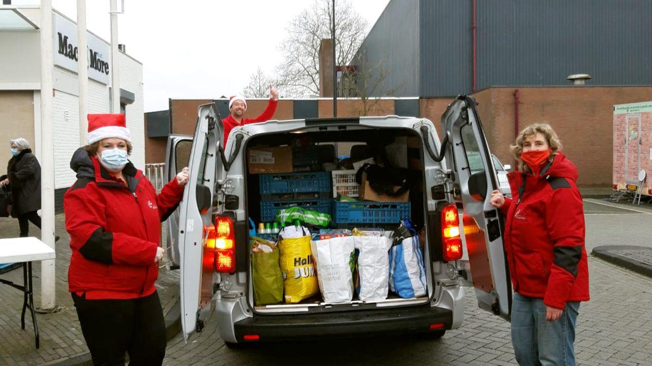 Recordopbrengst voor Maassluise voedselbank