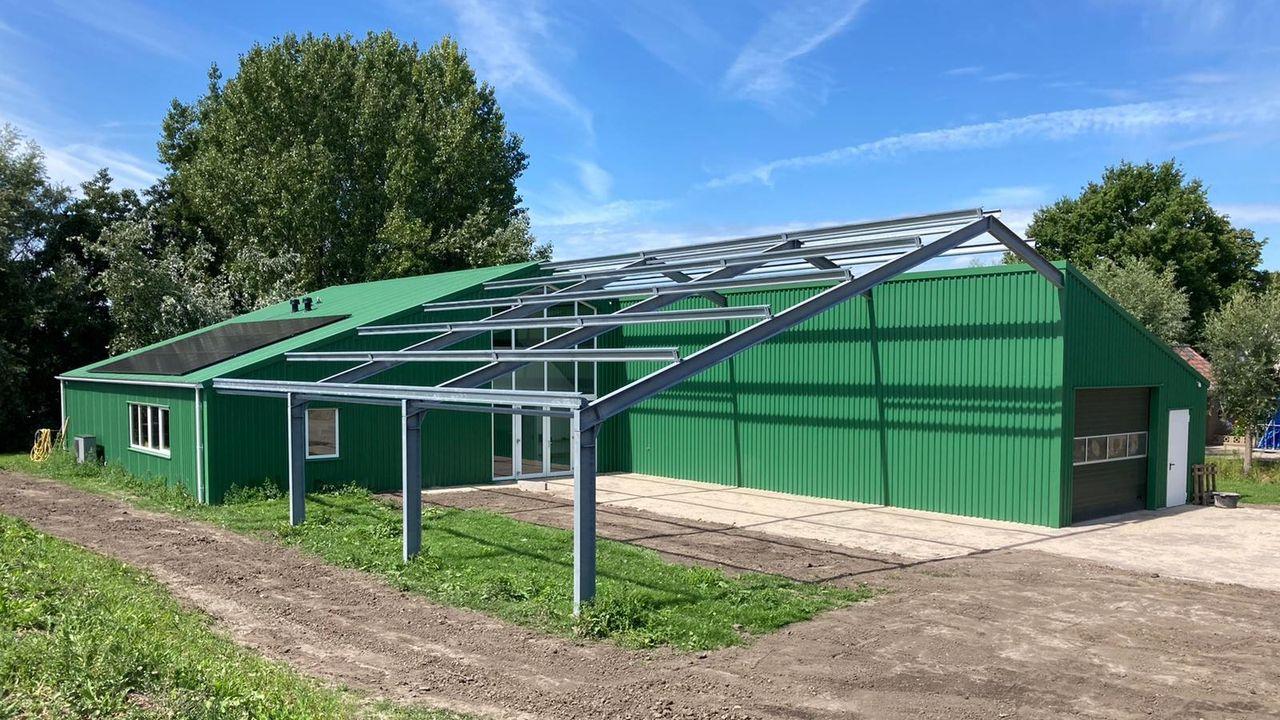 Nieuwbouw scouting Den Hoorn bijna af