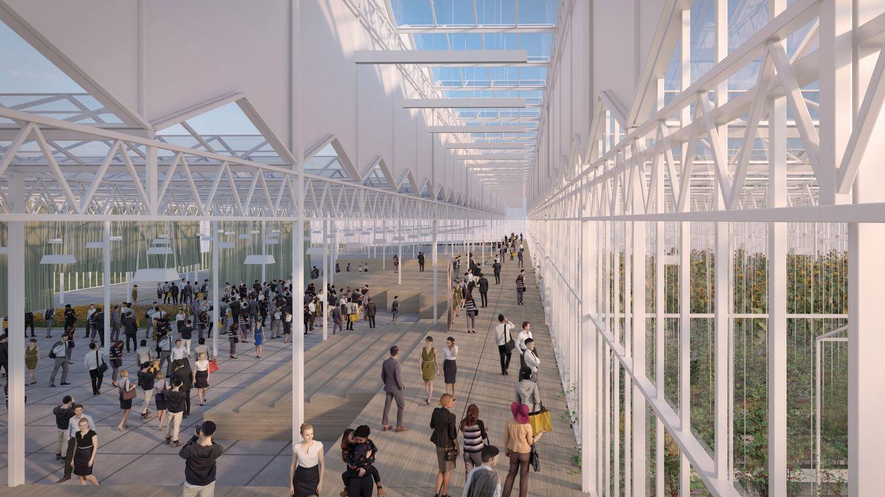 Bom Group bouwt Kascomplex op Floriade