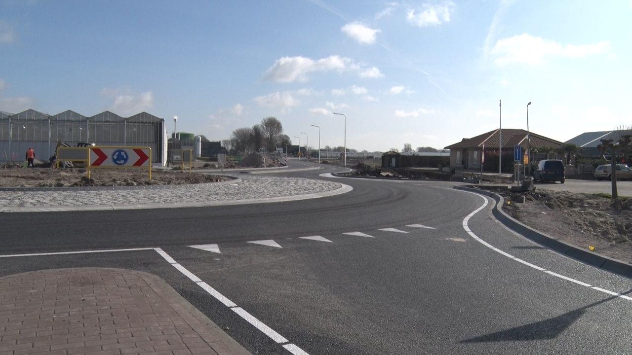 Nieuwe rotonde Lierse Veilingweg in gebruik