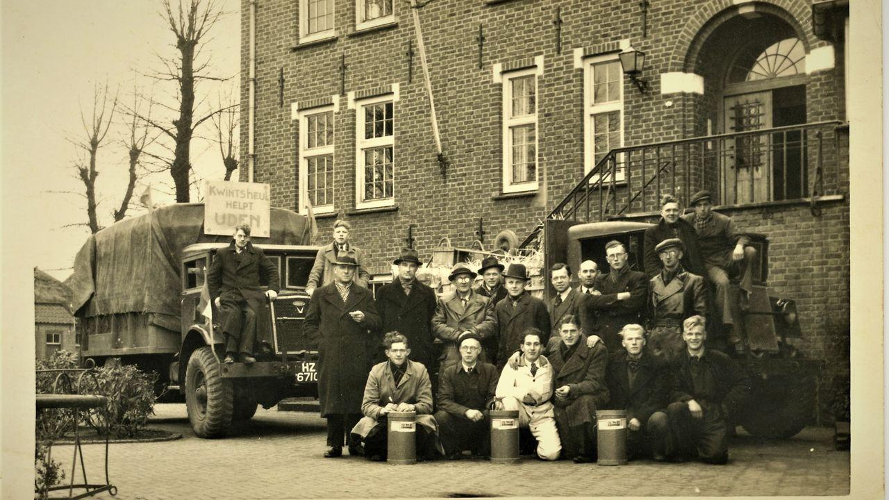 Streekhistorie: Westlands glas voor getroffen gebieden (actie Ruiten troef 1946)