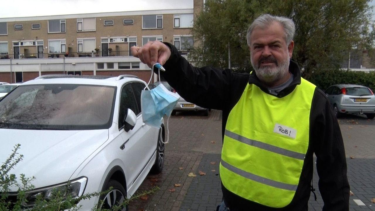 Cleanup Team Westland ziet steeds meer mondkapjes op straat