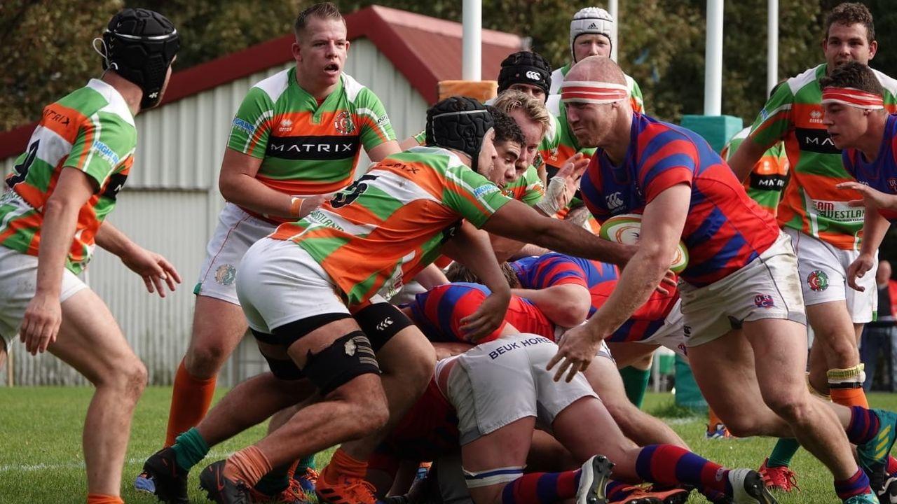 Hoekse rugbyers verliezen in Utrecht