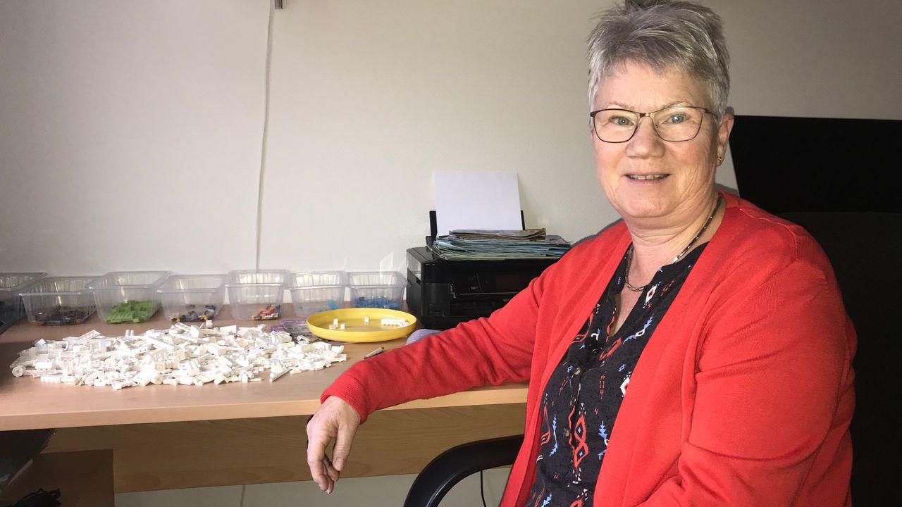 Marja Brinkman heeft een bijzondere hobby: Lego uitzoeken