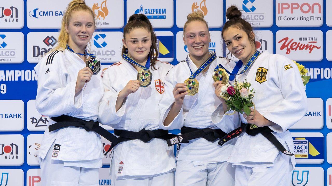 Judoka De Voogd geselecteerd voor EK onder 23