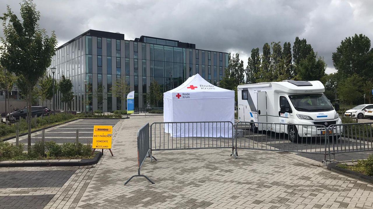 Testen op coronavirus in Naaldwijk van start gegaan