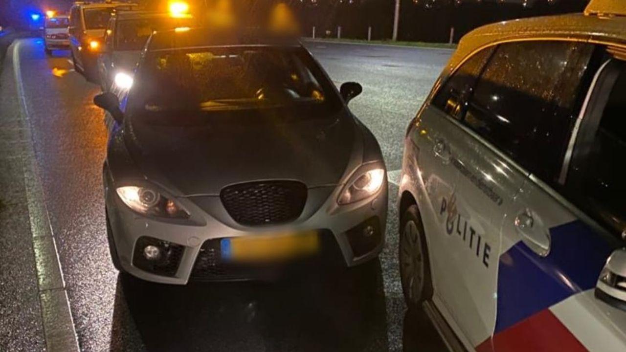 Politie houdt autodief aan na achtervolging op hoge snelheid